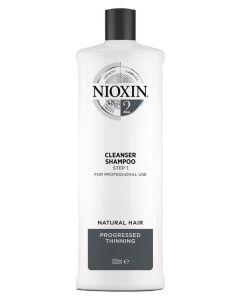 Nioxin 2 Cleanser Shampoo (N) 1000 ml