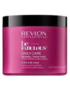 Revlon Be Fabulous Daily Care Normal/Thick Hair Mask 500 ml