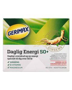 Gerimax Daglig Energi 50+