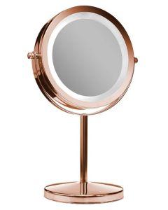 Gillian Jones Stand Light Mirror Rose Gold