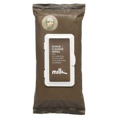 Milk & Co Scrub + Cleanse Wipes 25 stk