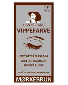 Hanne Bang Vippefarve Mørkebrun