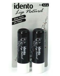 Idento Lip Naturel Aloe Vera Black 2x4.2g