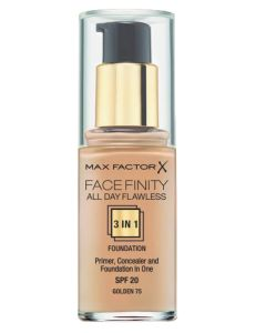 Max Factor Facefinity 3-in-1 Foundation Golden 75 - 30 ml