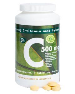 Berthelsen Naturprodukter - C Vitamin med hyben 500Mg