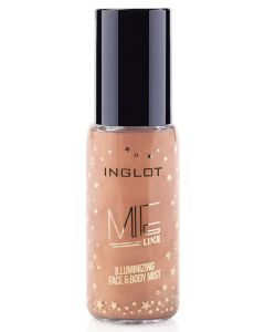 Inglot Me Like Illuminizing Face & Body Mist - Bamboo 302