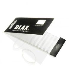 Blax - Snag-Free Hår Elastik CLEAR 8stk/4mm