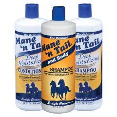 Mane 'N Tail Mix - Shampoo + Conditioner (Gratis pumper)