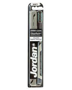 Jordan CleanTech Soft Tandbørste Grå