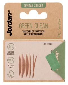 Jordan Green Clean Dental Sticks