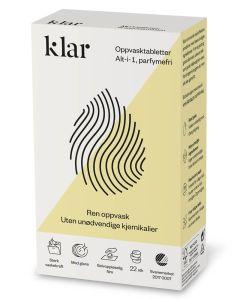 Klar Alt-i-1 Parfumefri Opvasketabs