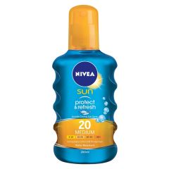 Nivea Sun Protect And Refresh SPF 20 Medium (Spray) 200 ml