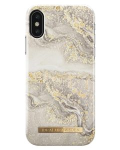 iDeal Of Sweden Cover Sparkle Greige Marble iPhone X/XS