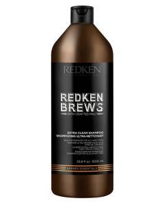 Redken Brews Extra Clean Shampoo 1000ml
