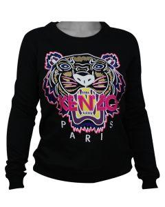 Kenzo Tiger Sweatshirt Black/Pink S