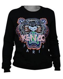 Kenzo Tiger Sweatshirt Black/Light Pink XL