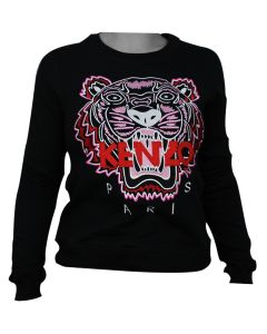 Kenzo Tiger Womans Sweatshirt Red S