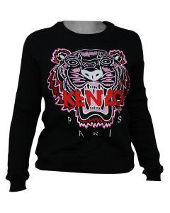 Kenzo Tiger Womans Sweatshirt Red L