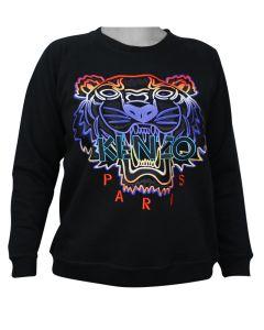 Kenzo Tiger Womans Sweatshirt Gradient L