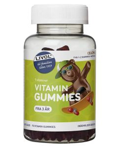 Livol Vitamin Gummies 75stk