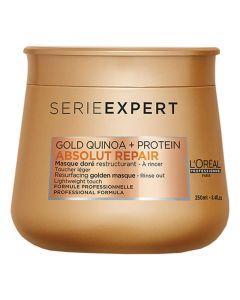 Loreal Absolut Repair Gold Quinoa + Resurfacing Golden Masque 250ml