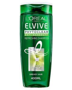 Loreal Elvive Phytoclear Anti-Dandruff Shampoo Greasy Hair 500ml