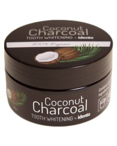 Idento Coconut Charcoal Tooth Whitening 30g