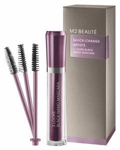 M2 Beauté Quick-Change Artists 3 Looks Black Nano Mascara 6ml