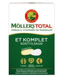 Møllers-Tran-Total-Komplet-Kosttilskud-56stk