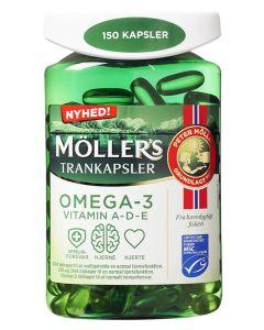Møllers-Tran-Trankapsler-150stk
