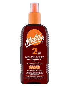 Malibu Dry Oil Sun Spray SPF 2 200ml