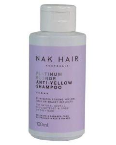 NAK Platinum Blonde Anti-Yellow Shampoo Vegan 100ml