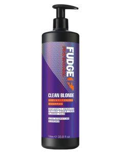 Fudge Clean Blonde Violet-Toning Shampoo (N) 1000 ml