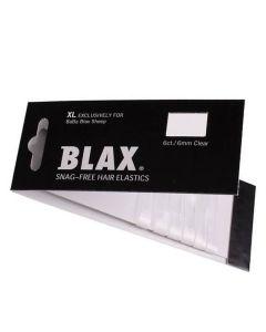 Blax - Snag-Free Hår Elastik CLEAR 6stk/6mm