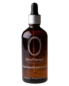 ZenzTherapy Organic Treatment oil - PatcouliCederwood 100 ml