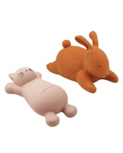 Liewood Vikky Bath Toys 2-pak Cat Rose