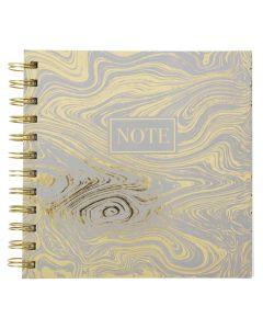 Krea Notesbog Gold Waves