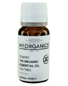 My.Organics 100% Tea Tree Organic Essential oil 10ml