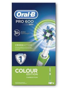 Oral B Pro 600 Colour Edition - Green
