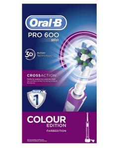 Oral B Pro 600 Colour Edition - Purple
