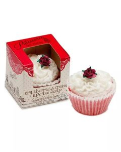 Patisserie De Bain Cranberries & Cream Cupcake Soap