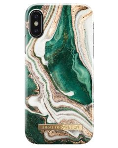 iDeal Of Sweden Cover Golden Jade Marble iPhone X/XS