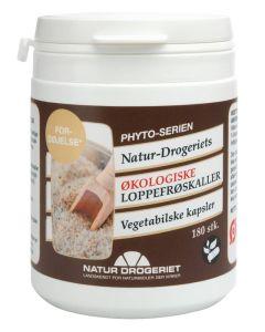 Natur-drogeriet-Økologiske-Loppefrøskaller-Vegetabilske-kapsler-180stk