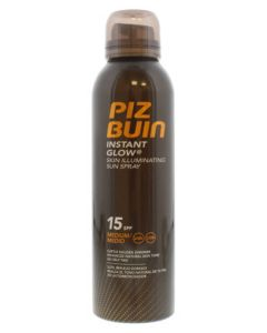 Piz Buin Instant Glow Skin Illuminating Sun Spray SPF 15