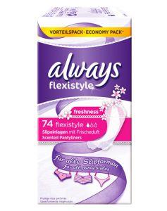 Always Flexistyle - Freshness 74stk
