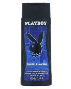 Playboy Super Playboy 2in1 Shower Gel & Shampoo