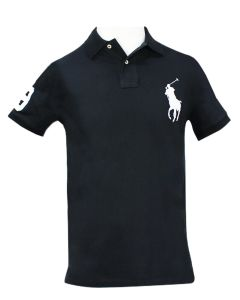 Ralph-Lauren-Custom-Slim-Fit-Polo-Black-L