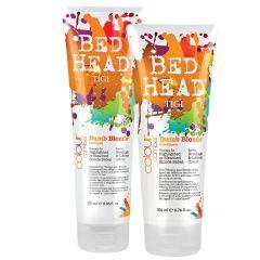 TIGI Dumb Blonde Shampoo + Conditioner (U)
