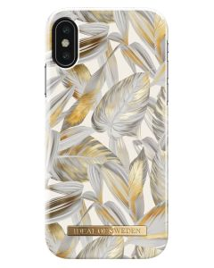iDeal Of Sweden Cover Platinum Leaves iPhone X/XS