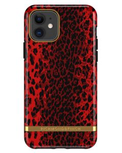 Richmond And Finch Red Leopard iPhone 11 Cover